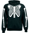 Skeleton Hood With Skulls