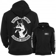 German Shepherd Fullpatch Ziphood
