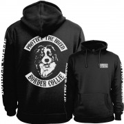 Border Collie Fullpatch Hoodie
