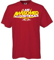 I Just Awesomed Allover T-shirt