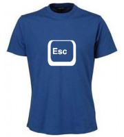 Escape Button T-shirt