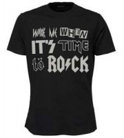 Wake Me When It's Time to Rock T-shirt