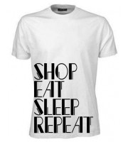 Shop Eat Sleep Repeat T-shirt