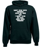 Don't Finger My Bike Hoodie