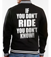 If You Don't Ride Collegejacka
