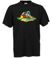 Rubicks Melting Cube T-shirt