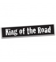 King Of The Road Bumpersticker
