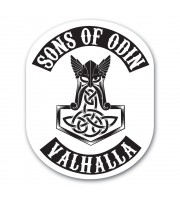 Sons Of Odin Klisterdekal