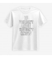 If You Don't Ride Distressed T-shirt