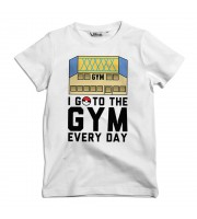 I Go To The Gym Every Day Barn T-shirt