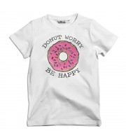 Donut Worry Be Happy Barn T-shirt
