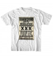 Straight Edge Sober Living T-shirt