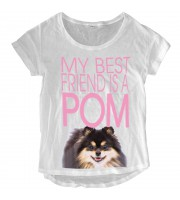 My Best Friend Is a POM Loose Fit Top