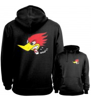 Mr Horsepower Backpatch Hoodie