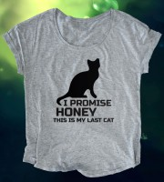 I Promise Honey This Is My Last Cat Loose Fit Top