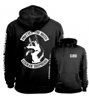 German Shepherd Fullpatch Hoodie