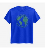 Think Globally, Act Locally T-shirt