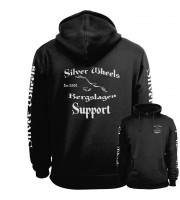 Silver Wheels Support Fullpatch Hoodie