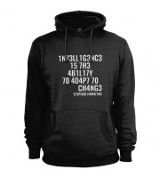 Intelligence Is the Ability to Adapt to Change Hoodie