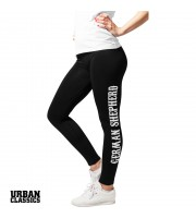 German Shepherd Sport Leggings - Slim Fit
