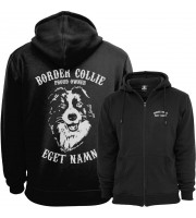 Border Collie Proud Owner - Eget Namn Ziphood
