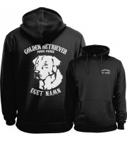 Golden Retriever Proud Owner - Eget Namn Hoodie
