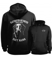 Flatcoated Retriever Proud Owner - Eget Namn Hoodie