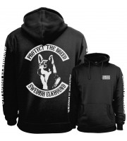 Swedish Elkhound Fullpatch Hoodie