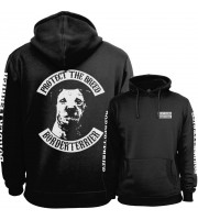 Borderterrier Fullpatch Hoodie