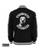 Borderterrier Fullpatch Collegejacka från Urban Classics