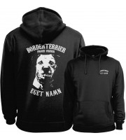 Borderterrier Proud Owner - Eget Namn Hoodie