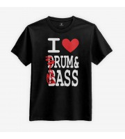 I Love Rum & Ass T-shirt