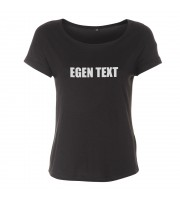 Egen Text eller Yrke Loose Fit Top