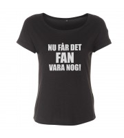 Nu Får Det Fan Vara Nog! Loose Fit Top