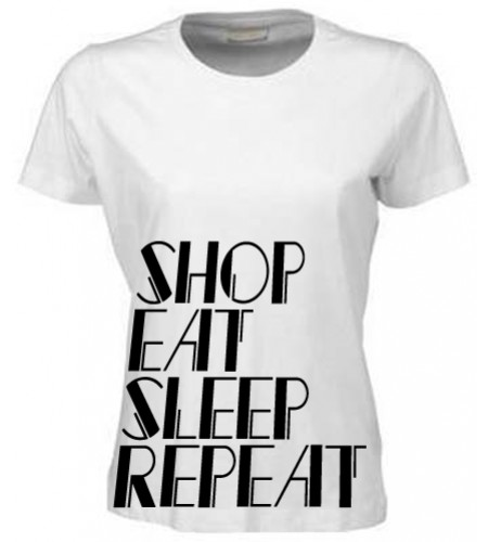 Shop Eat Sleep Repeat