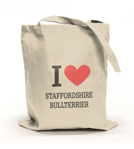 I Love Staffordshire Bullterrier