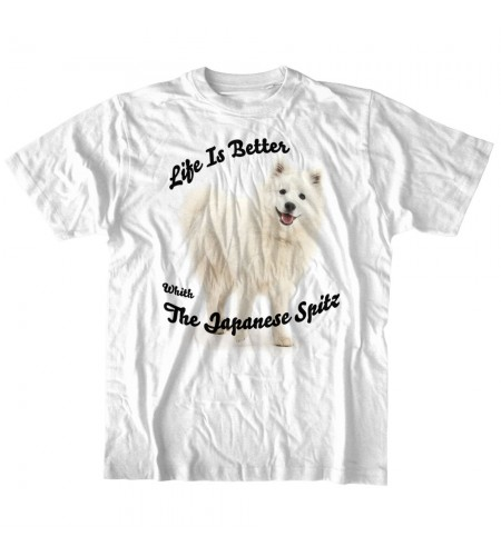 Life Is Better With The Japanese Spitz