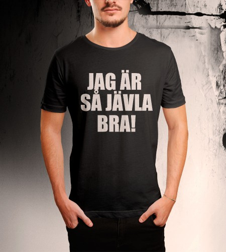 Din Egen Text På en T-shirt