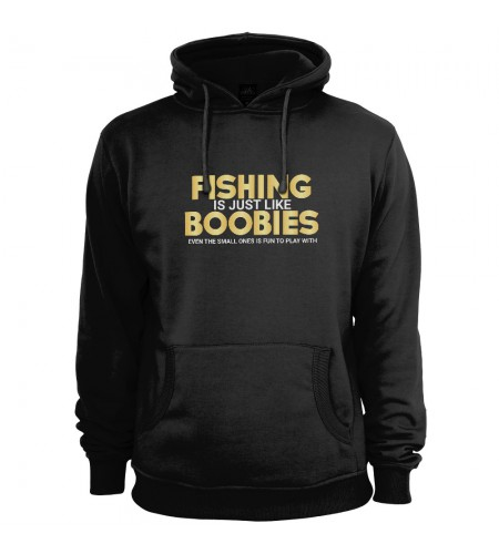 Fishing is Just Like Boobies