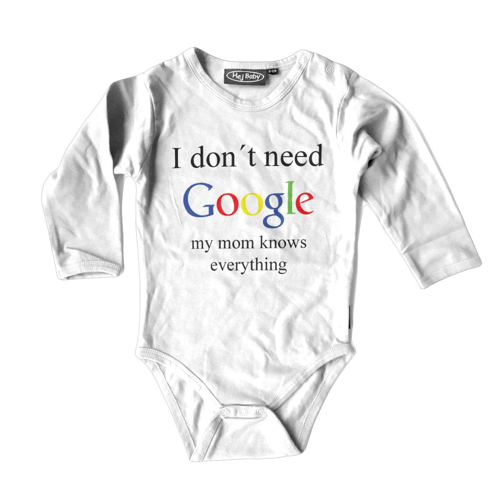 I Don't Need Google - My Mum Knows Everything Body