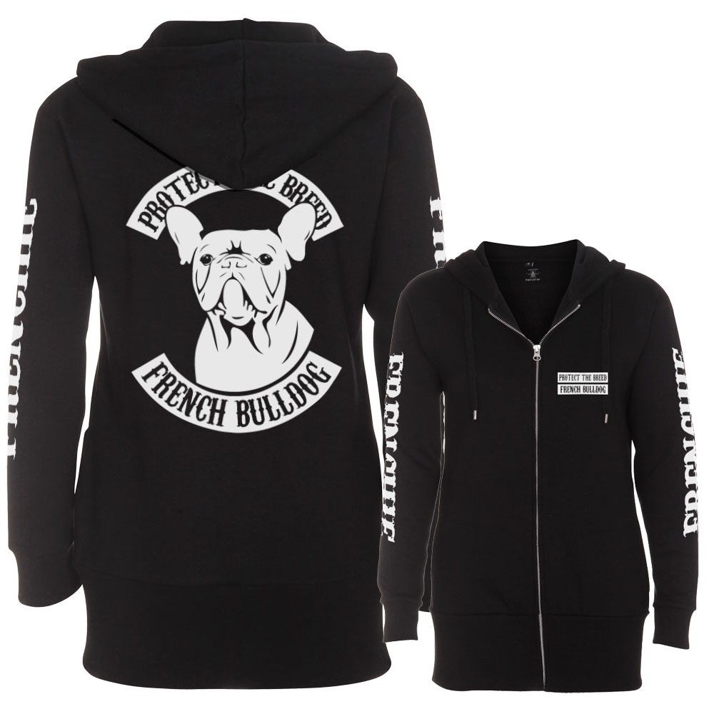 French Bulldog Fullpatch Lady Ziphood