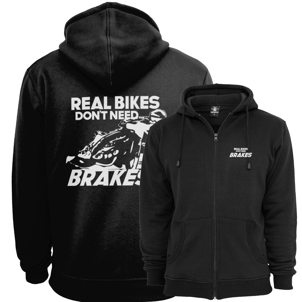 Real Bikes Don't Need Brakes Ziphood