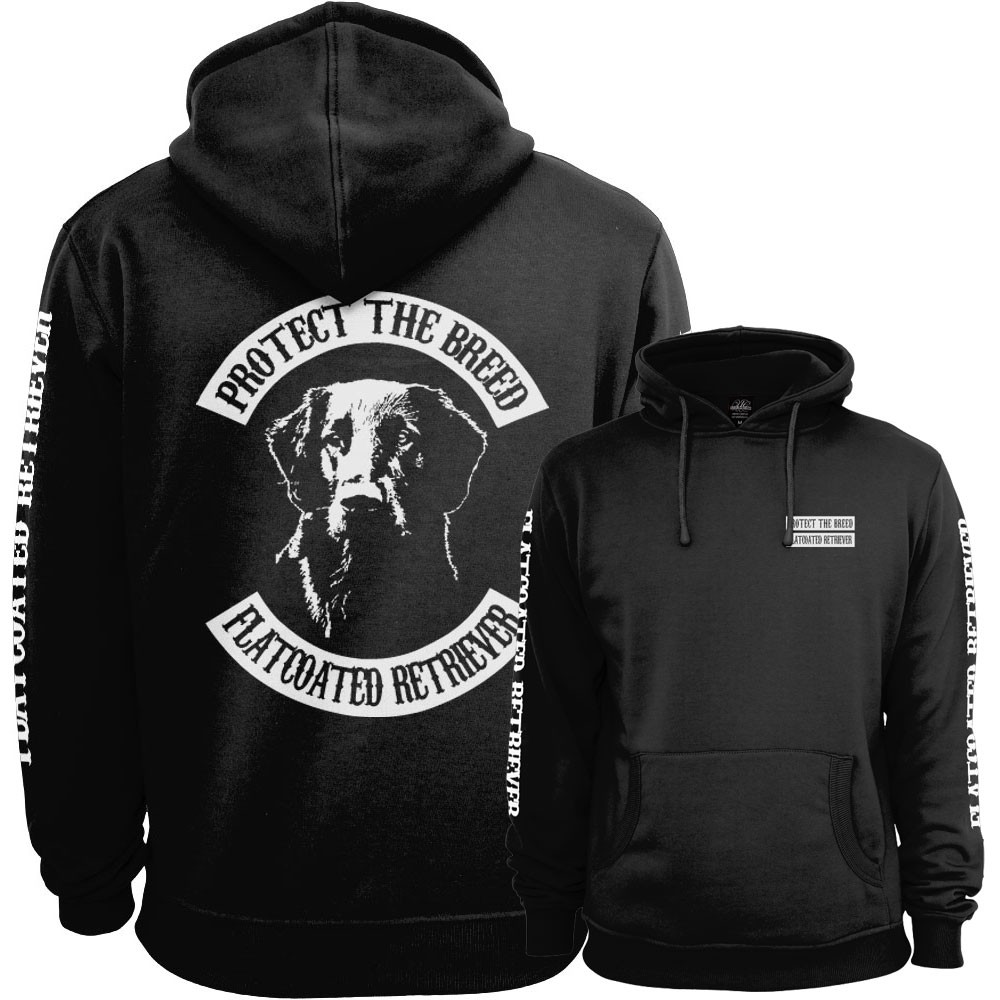 Flatcoated Retriever Fullpatch Hoodie