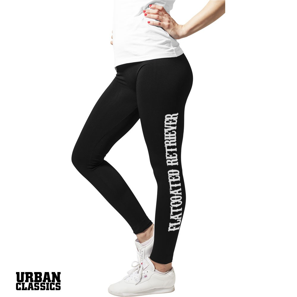 Flatcoated Retriever Sport Leggings - Slim Fit