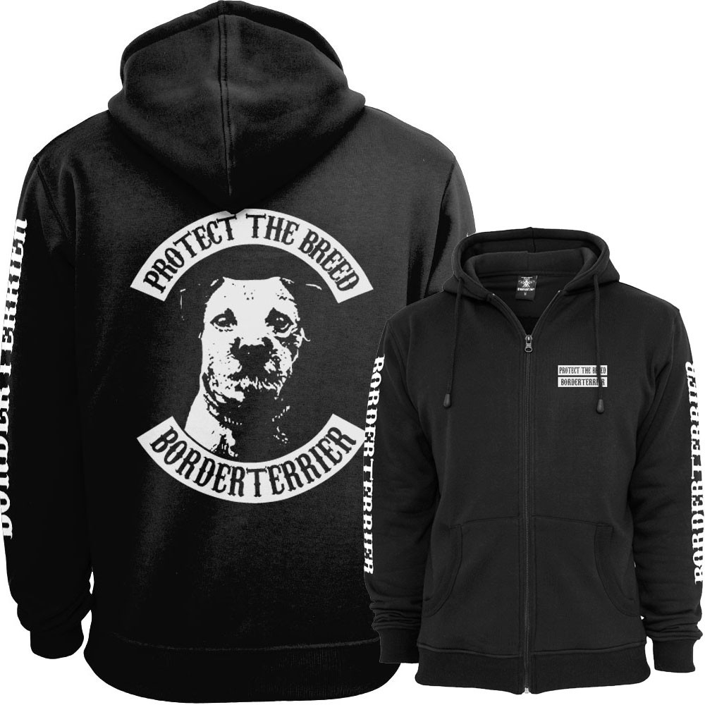 Borderterrier Fullpatch Ziphood