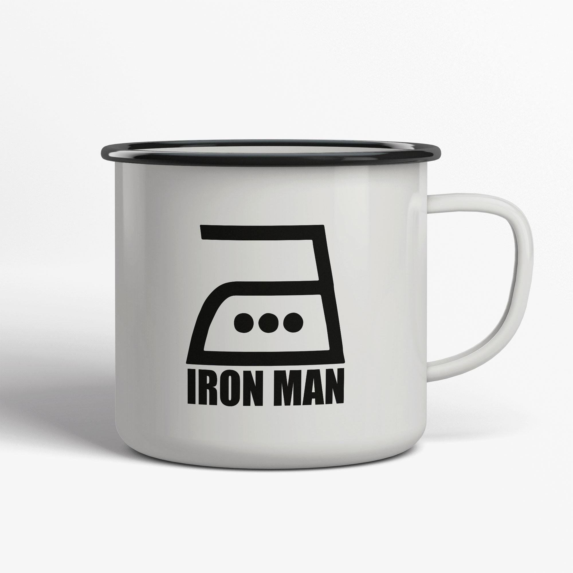 Iron Man Emaljmugg