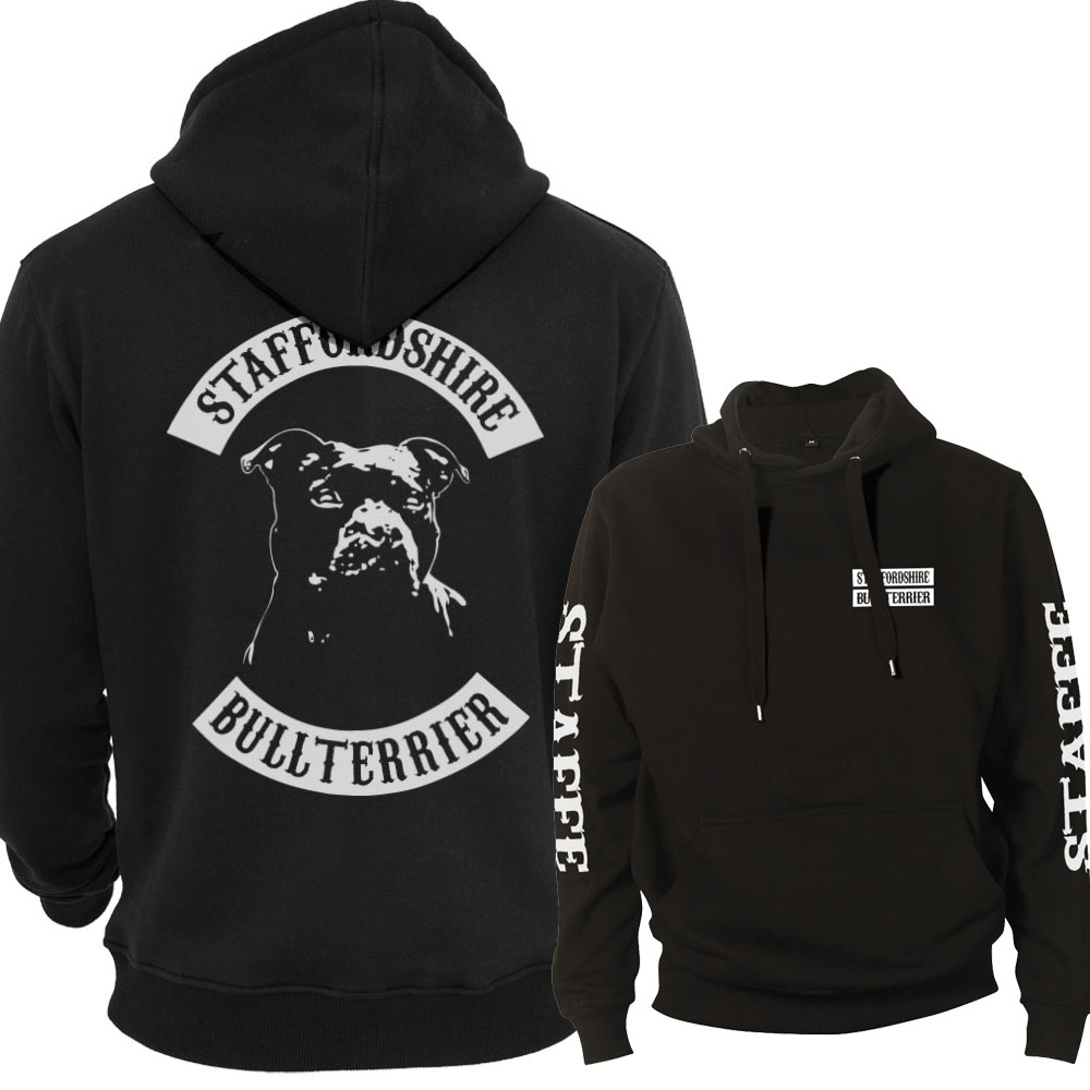 Staffordshire Bullterrier Staffe Fullpatch Hoodie
