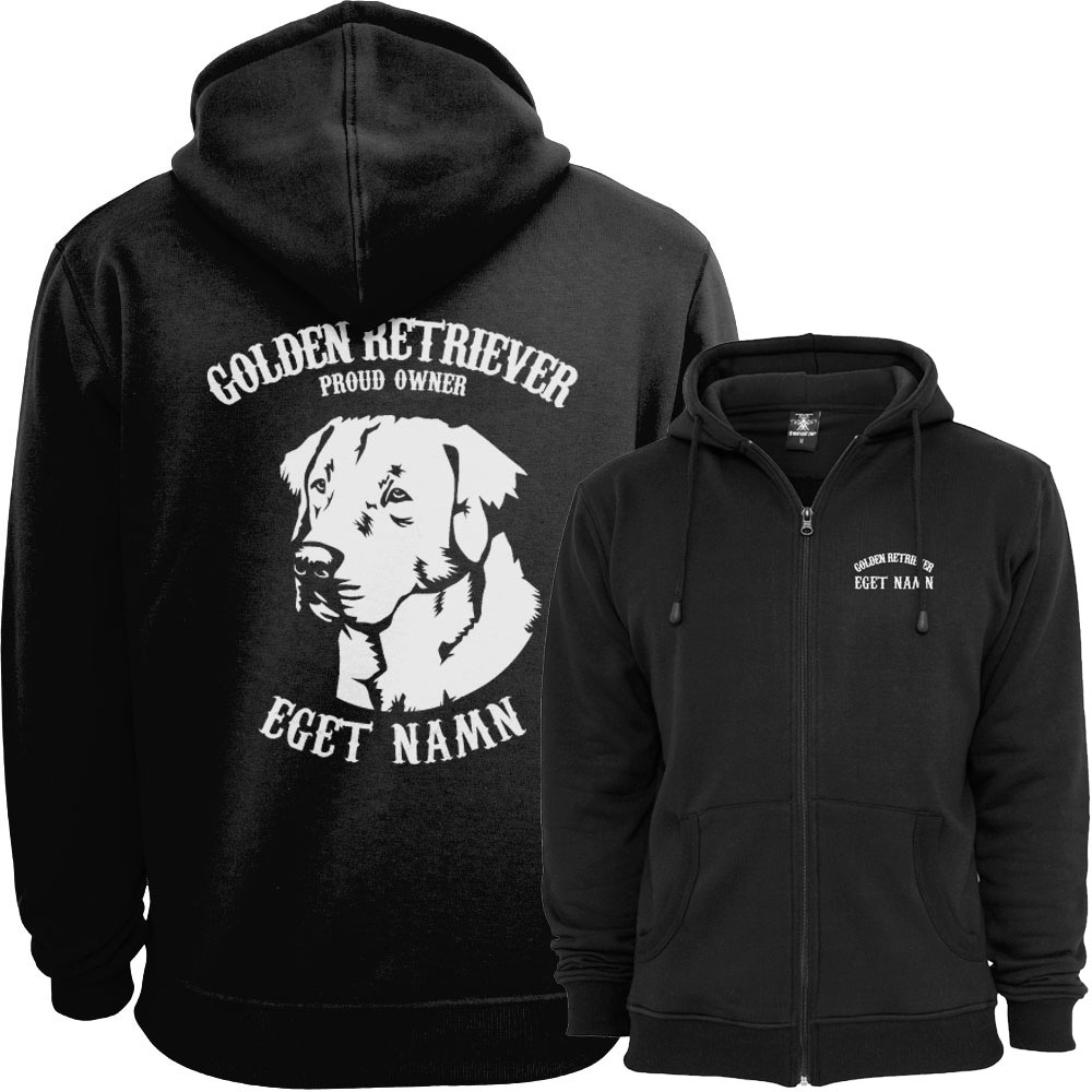 Golden Retriever Proud Owner - Eget Namn Ziphood