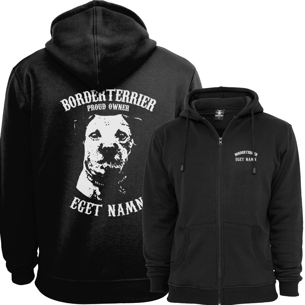 Borderterrier Proud Owner - Eget Namn Ziphood
