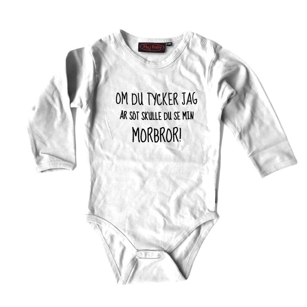 baby body med eget tryck